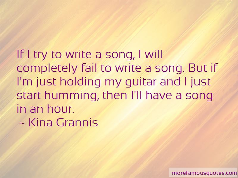 Guitar Holding Quotes
