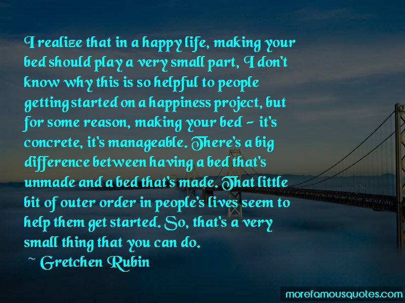 Happiness Project Quotes