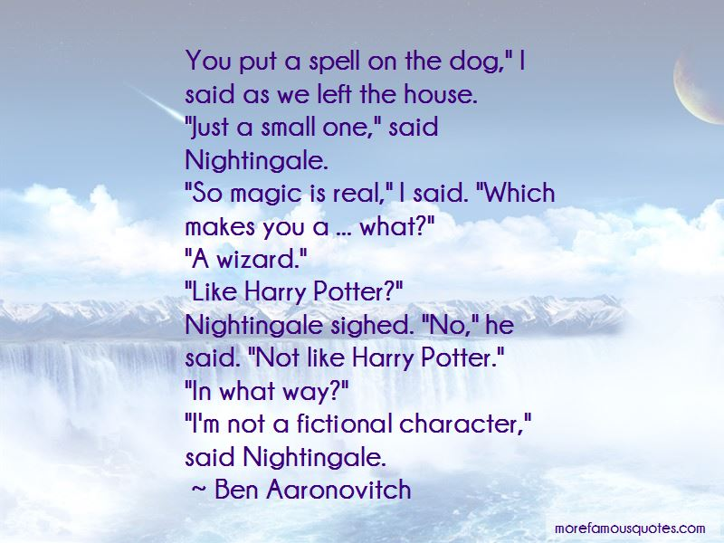 Harry Potter Magic Spell Quotes: top 2 quotes about Harry ...