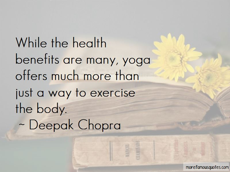 Health Benefits Of Exercise Quotes Pictures 2