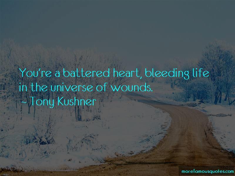 Heart Bleeding Quotes