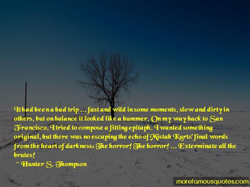 Heart Of Darkness Kurtz Quotes