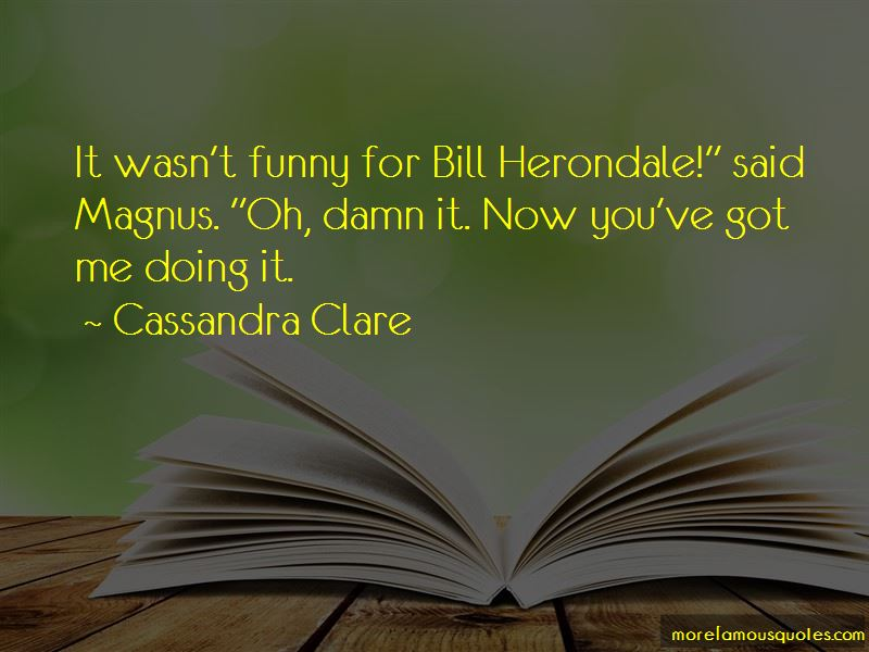 Herondale Funny Quotes