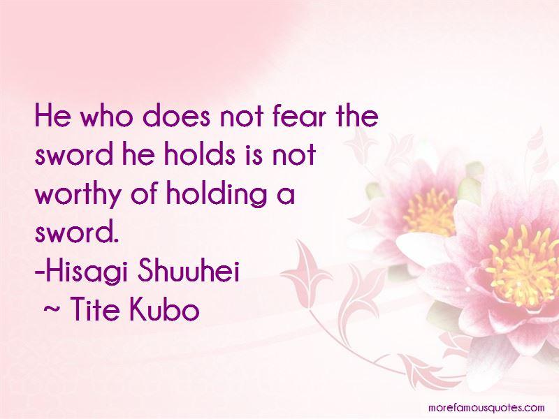 Hisagi Quotes