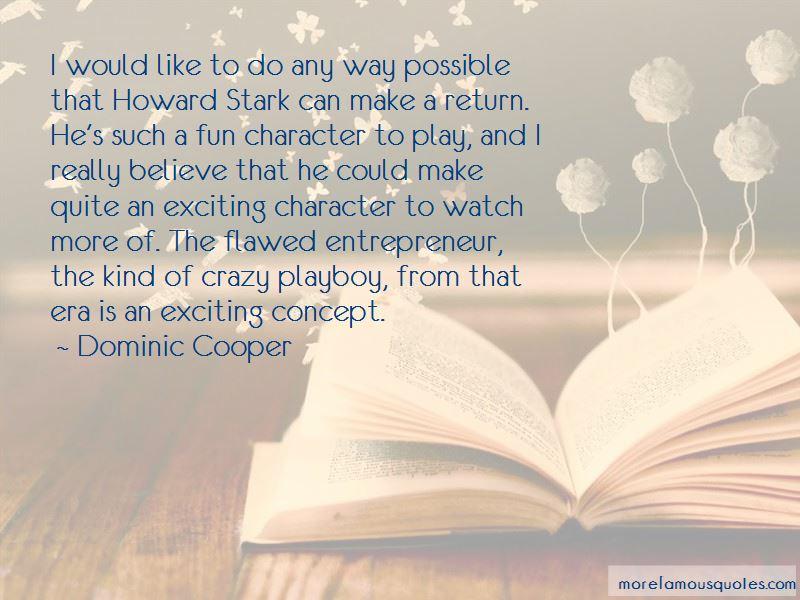 Howard Stark Quotes