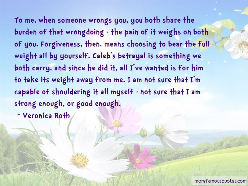 I Am Strong Enough Quotes
