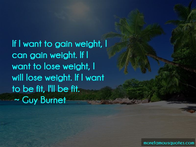 I Want To Be Fit Quotes