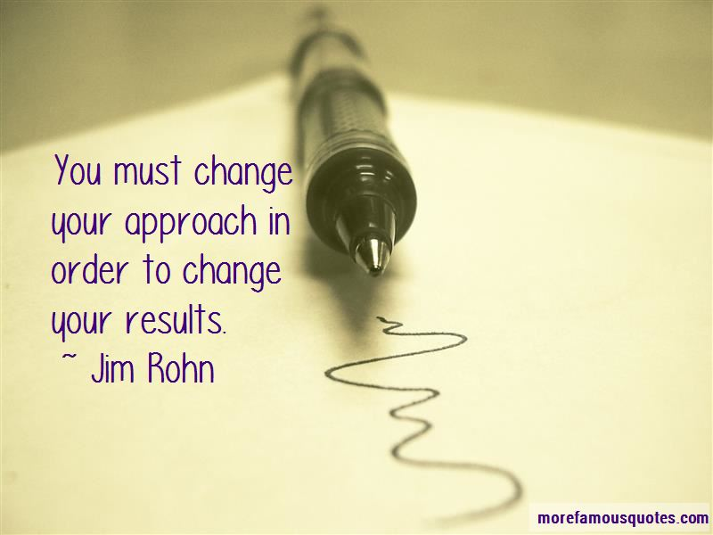 In Order To Change Quotes