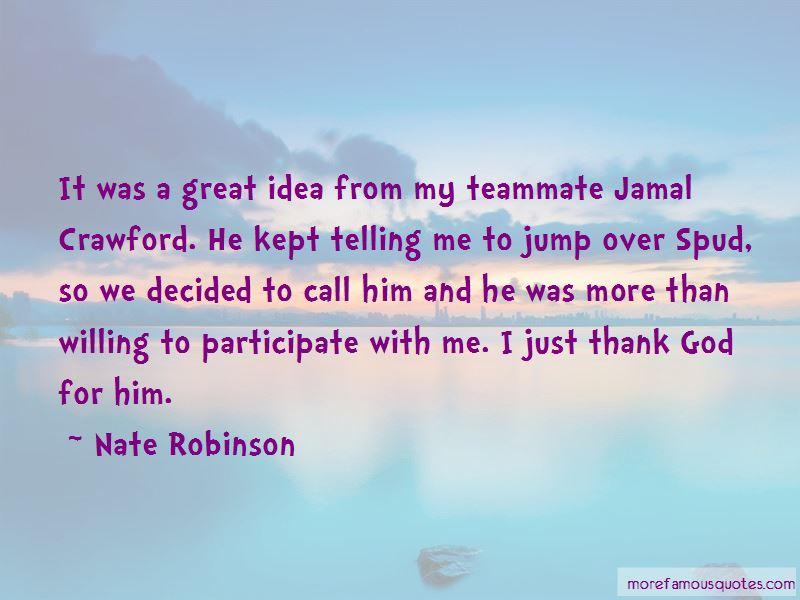 Jamal Crawford Quotes