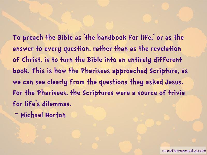 Jesus Pharisees Bible Quotes
