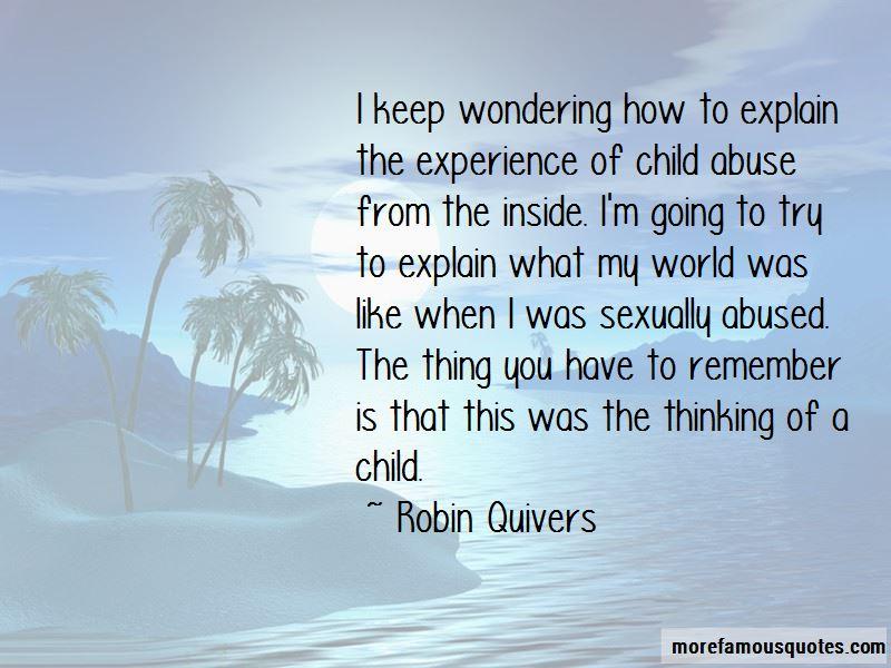 Keep Wondering Quotes