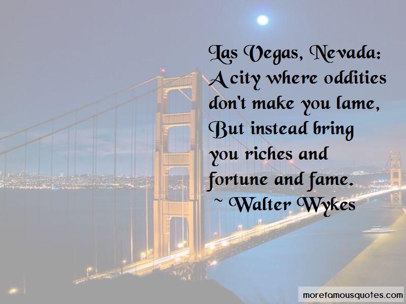 Las Vegas Nevada Quotes