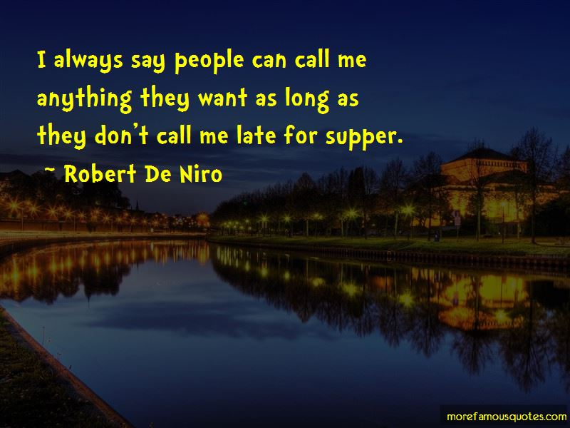 Late Supper Quotes Pictures 2