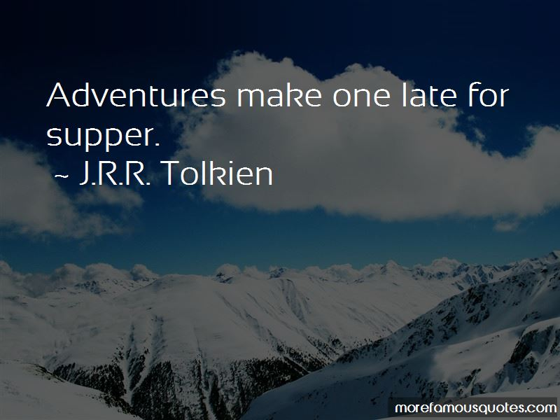 Late Supper Quotes Pictures 3