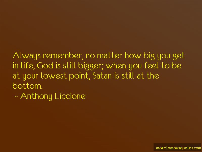 Lowest Point In Your Life Quotes