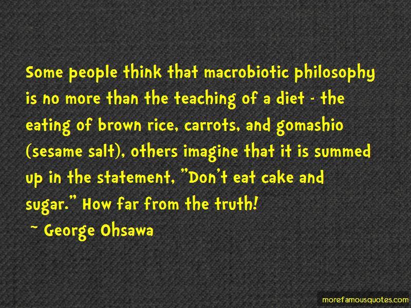 Macrobiotic Quotes