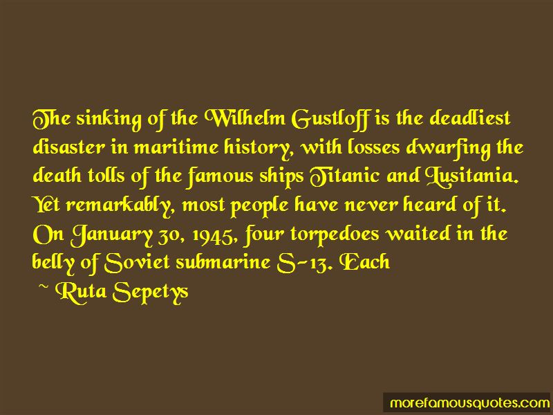Maritime History Quotes