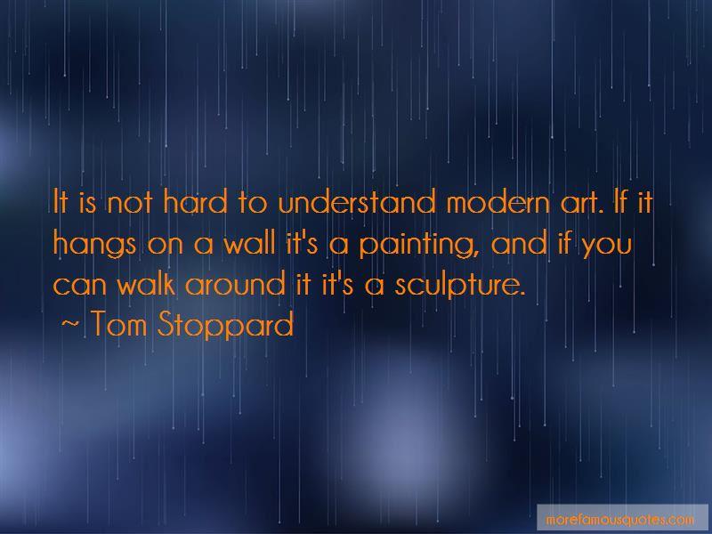 Modern Art Sculpture Quotes