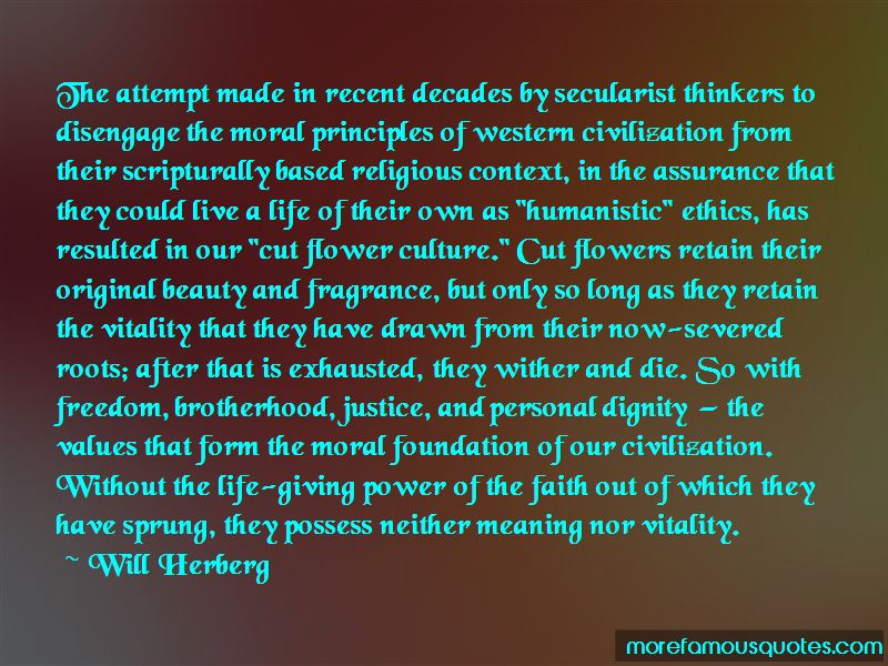 Moral Values And Ethics Quotes
