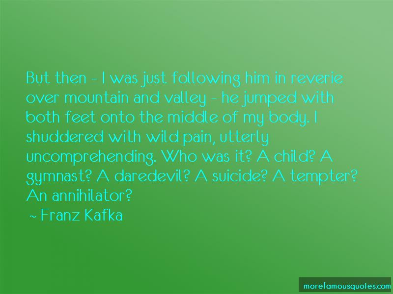 Mountain And Valley Quotes