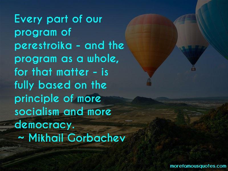 My Perestroika Quotes