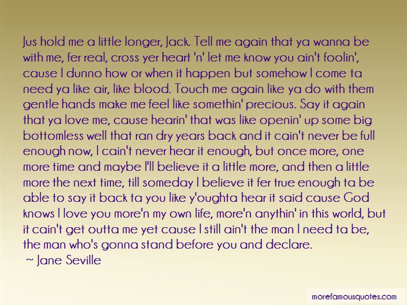 Never Wanna Let You Go Quotes Pictures 4