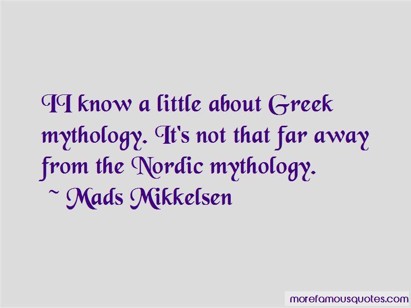Nordic Mythology Quotes