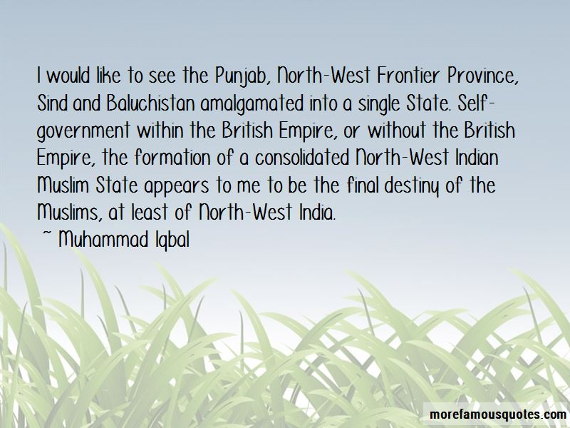 North West Frontier Quotes
