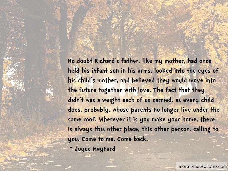 Parents Love To Son Quotes Pictures 3
