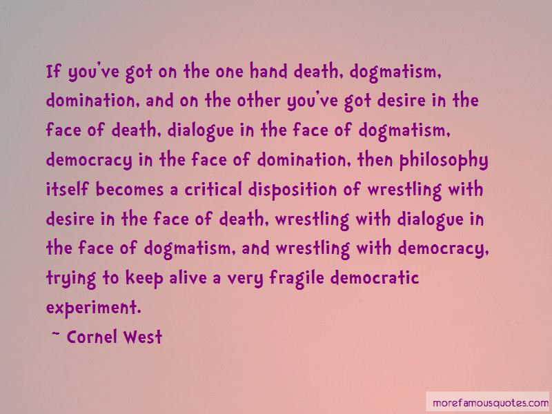 Philosophy And Death Quotes