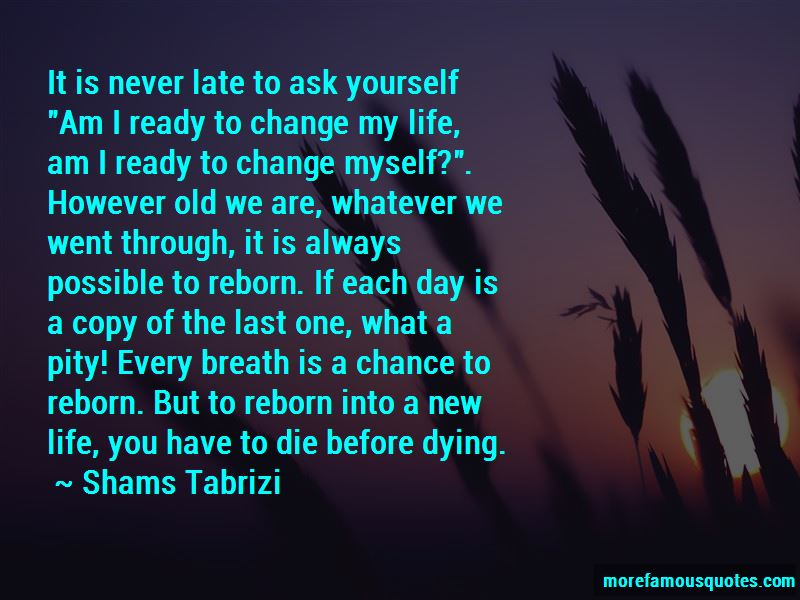 Quotes ready for change 75 Best