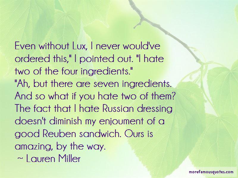 Reuben Sandwich Quotes Pictures 2