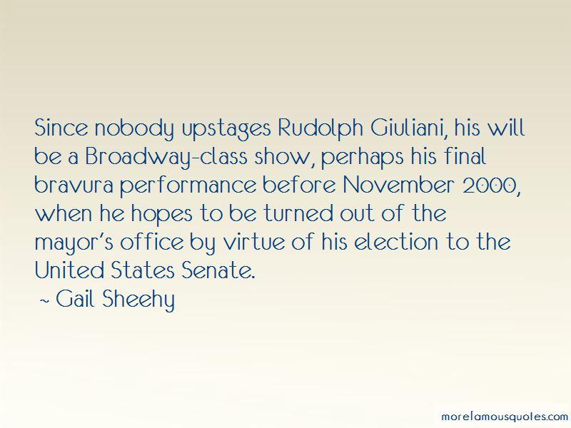 Rudolph Giuliani Quotes