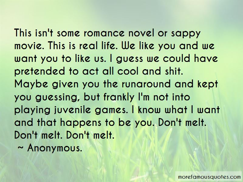 Sappy Romance Quotes: top 5 quotes about Sappy Romance from ...