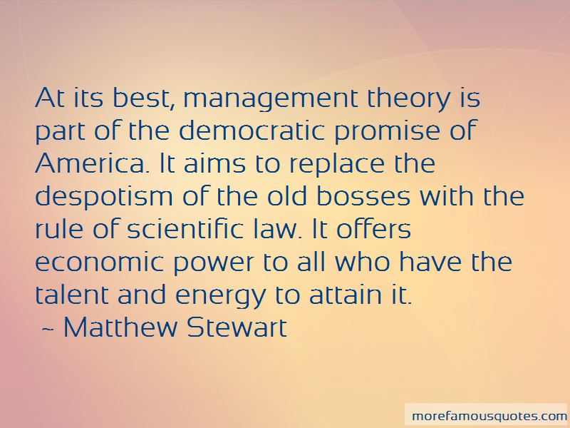 Scientific Management Theory Quotes