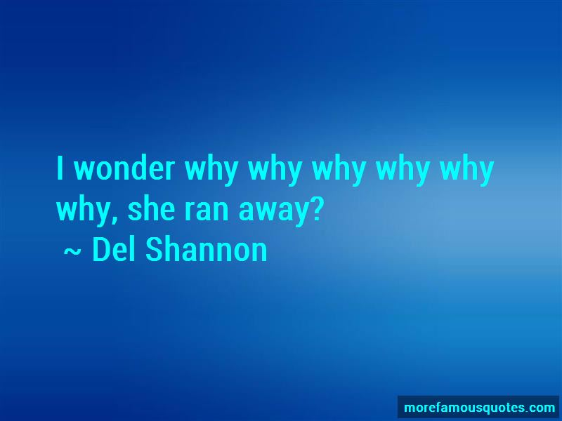 She Ran Away Quotes Pictures 3
