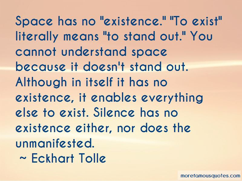 Silence Means Everything Quotes