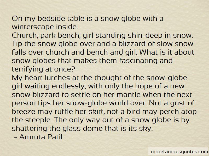 Snow Blizzard Quotes