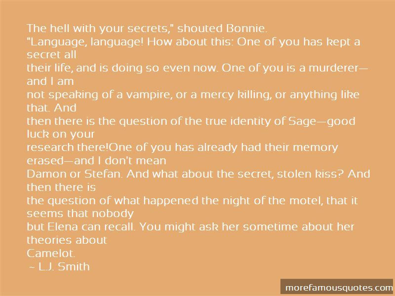 Stefan And Bonnie Quotes