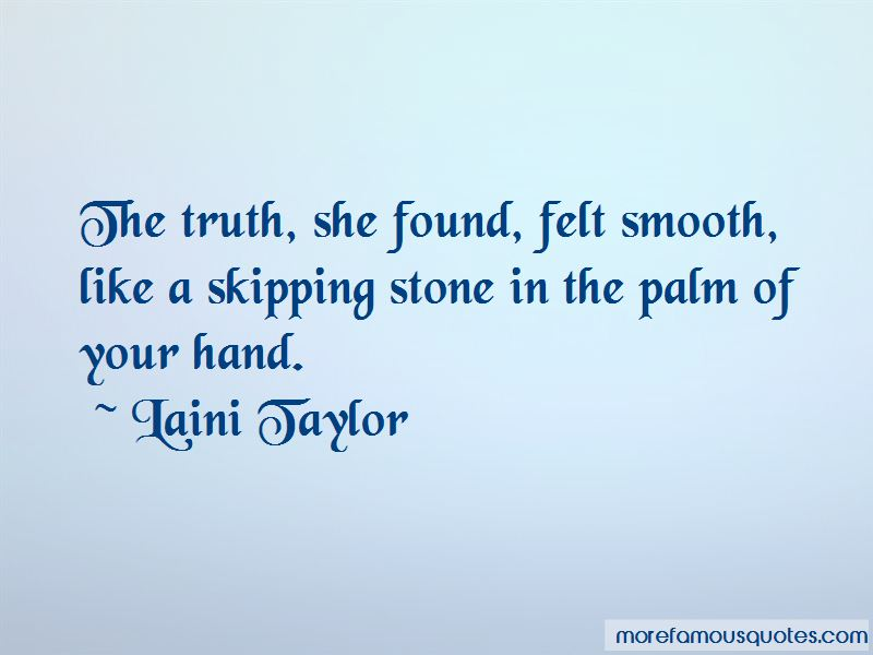Stone Skipping Quotes