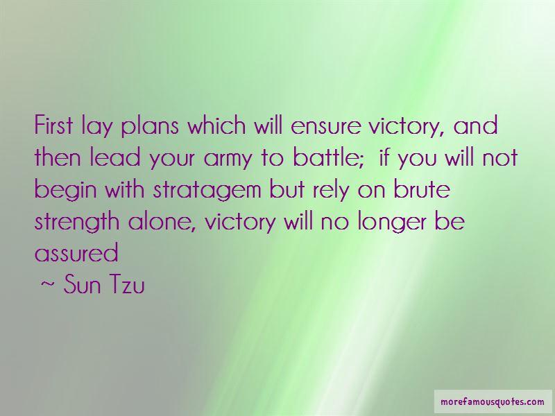 Stratagem Quotes Pictures 4