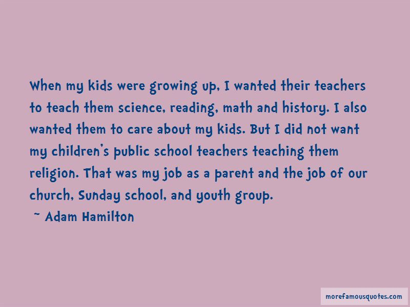 Sunday School Teaching Quotes Pictures 3