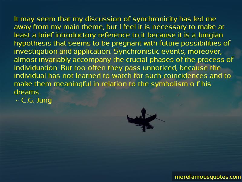 Synchronistic Quotes