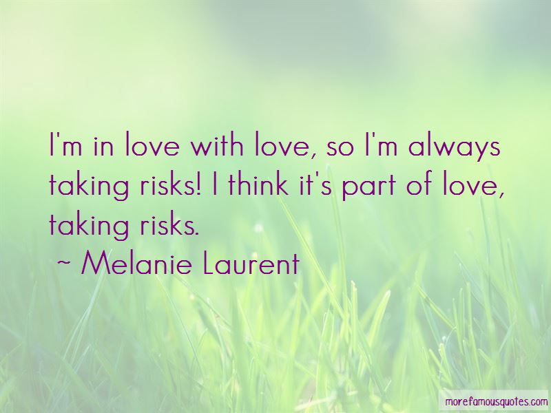 Taking Risks On Love Quotes Pictures 2