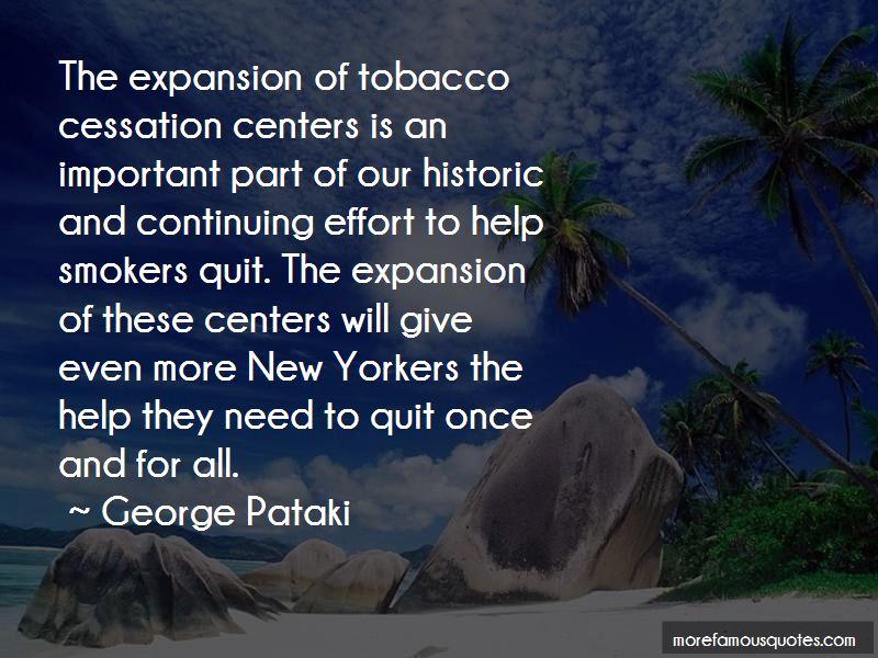 Tobacco Cessation Quotes