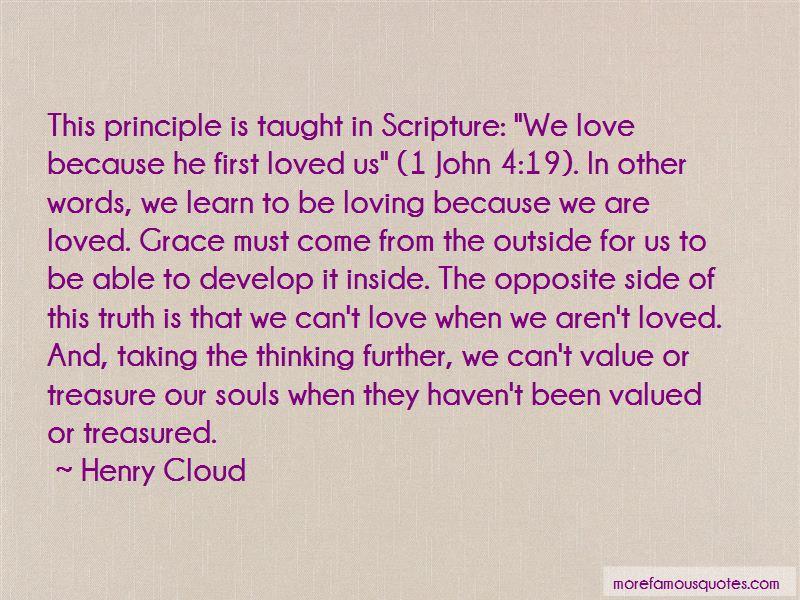 Treasure Principle Quotes