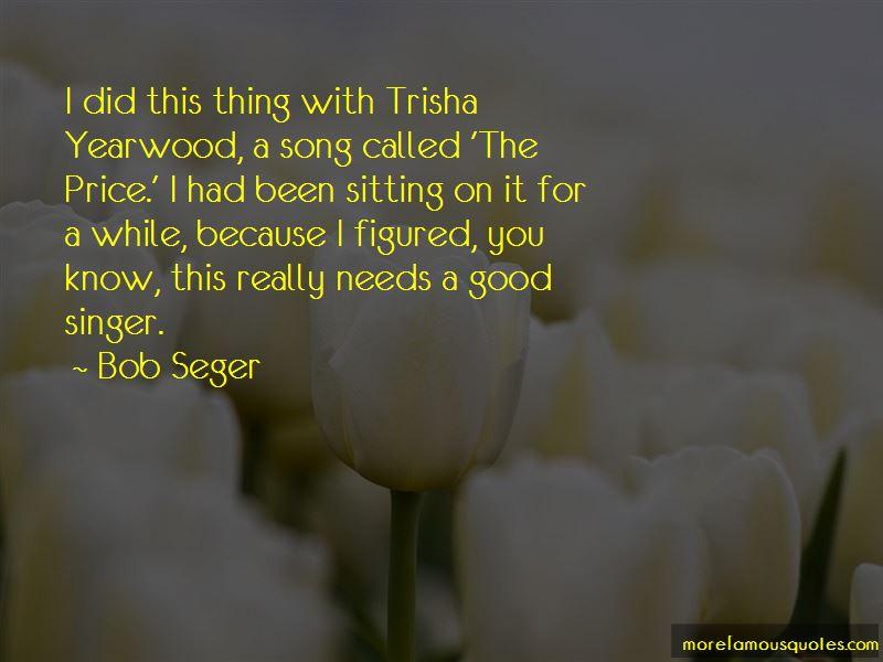 Trisha Yearwood Song Quotes
