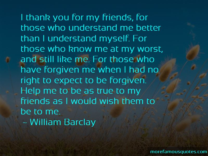 True Friends Thank You Quotes
