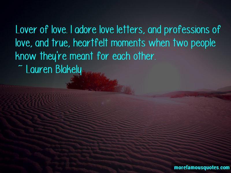 True Heartfelt Love Quotes Pictures 4