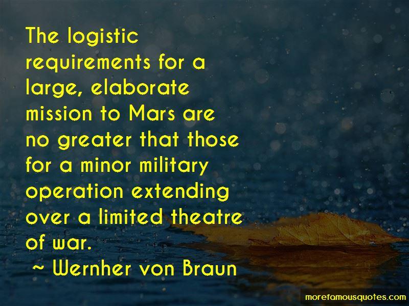 War Logistic Quotes